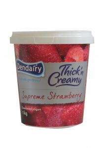 Yogurt( Supreme Strawbarry) 1kg