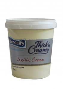 Yogurt( Vanilla Cream) 1kg